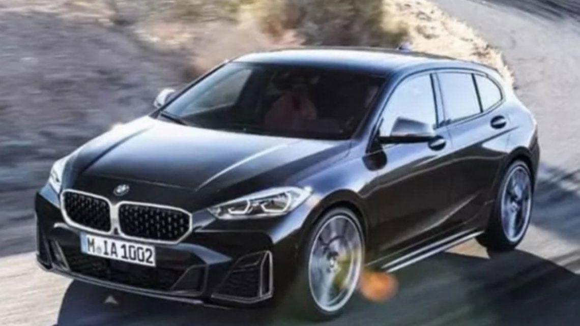 Nové BMW radu 1 odhalil únik. Dostane pohon predných kolies a štvorvalce pod kapotou.