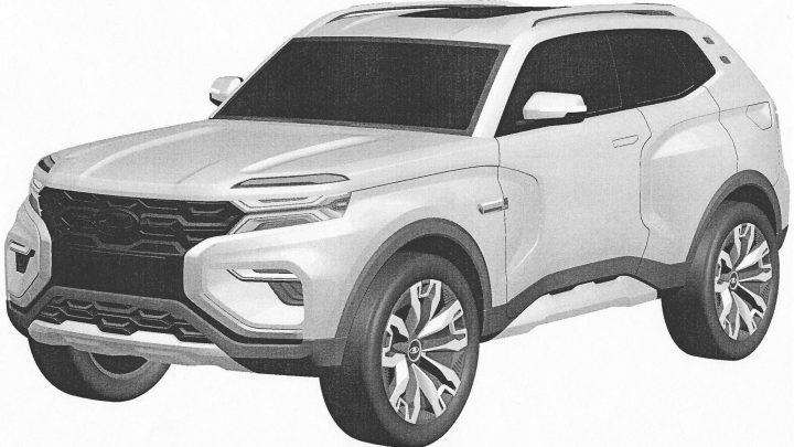Nová Lada 4×4 bude bombastická. AutoVaz si zaregistroval patentové snímky novej Lady 4×4.