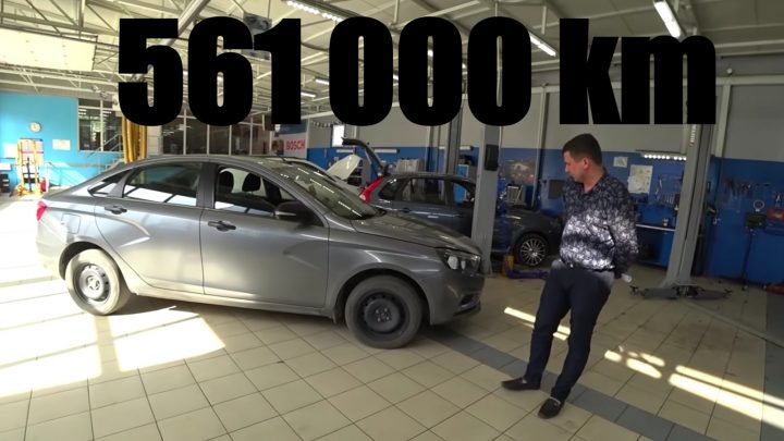 Lada Vesta najazdila za tri roky 560 000 km. V akom technickom stave je?