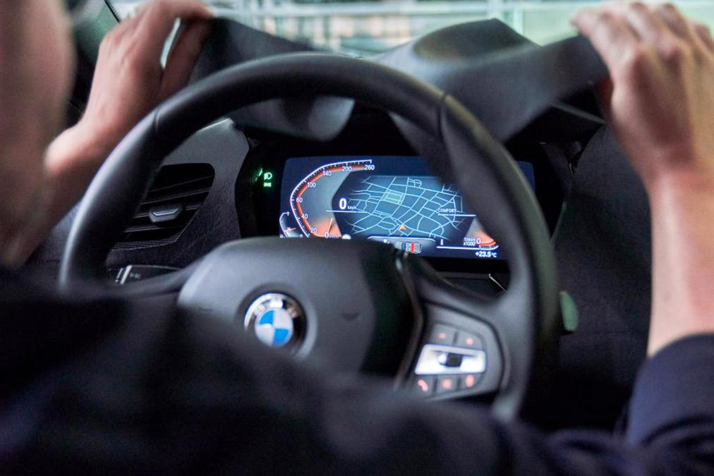 BMW 1-series interior