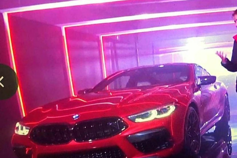 BMW M8 official