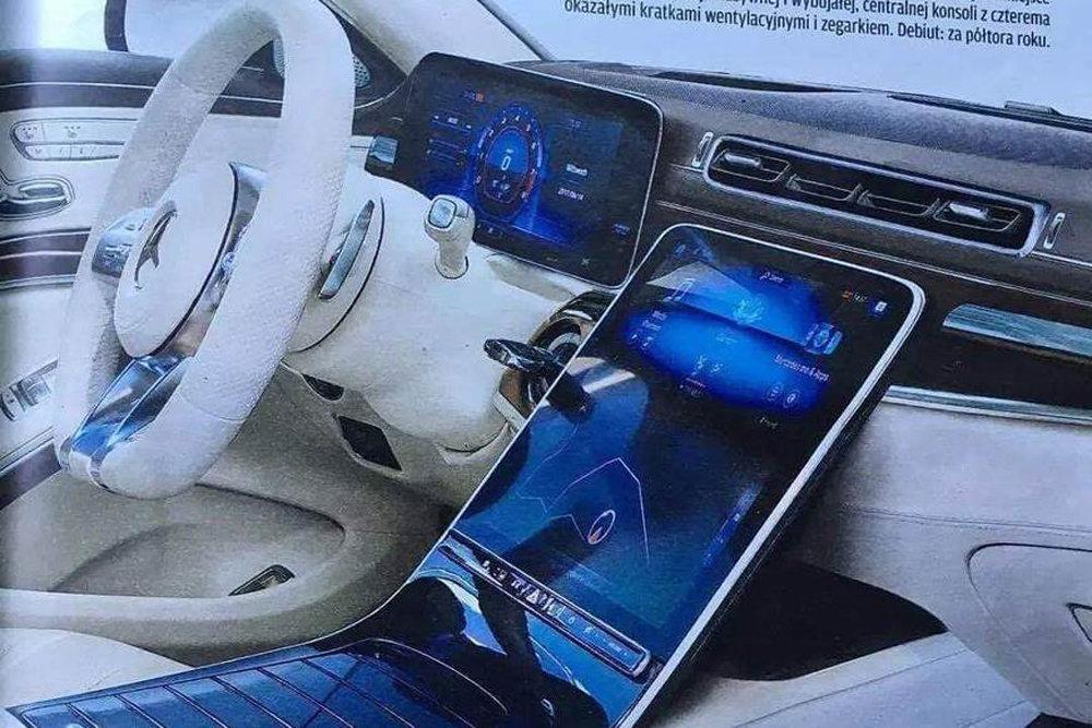 Mercedes S 2019 Interior