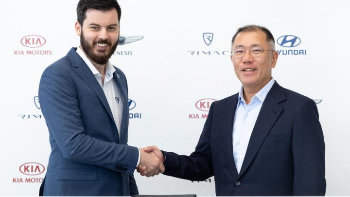 Chorvátsky Rimac pomôže Hyundaiu s výrobou športových elektrických vozidiel N.