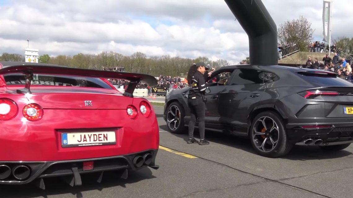 Nissan GT-R a Lamborghini Urus sa postavili proti sebe na šprinte. Kto vyhraje?