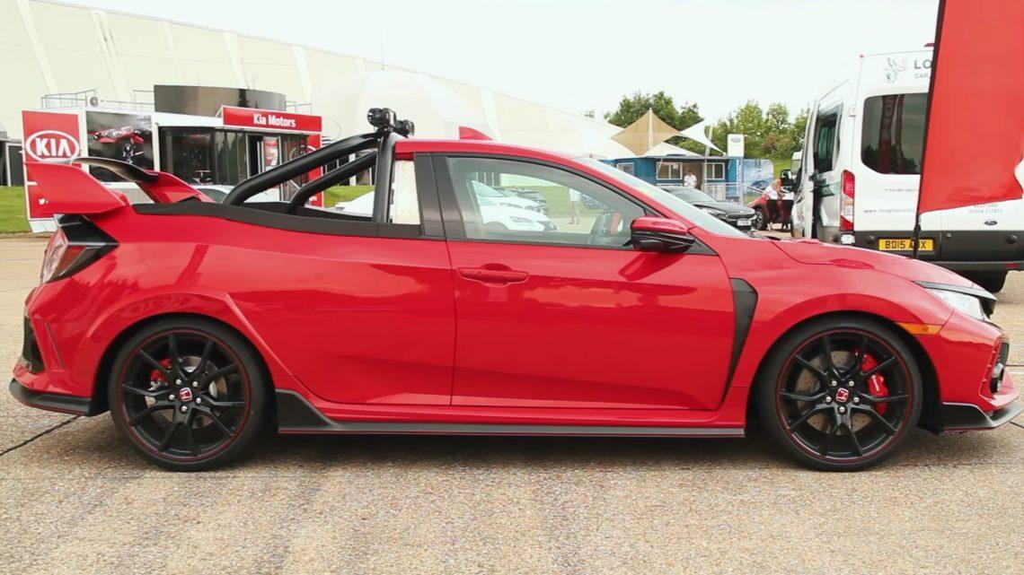Inžinieri v Japonsku spravili z Hondy Civic Type-R pick-up.