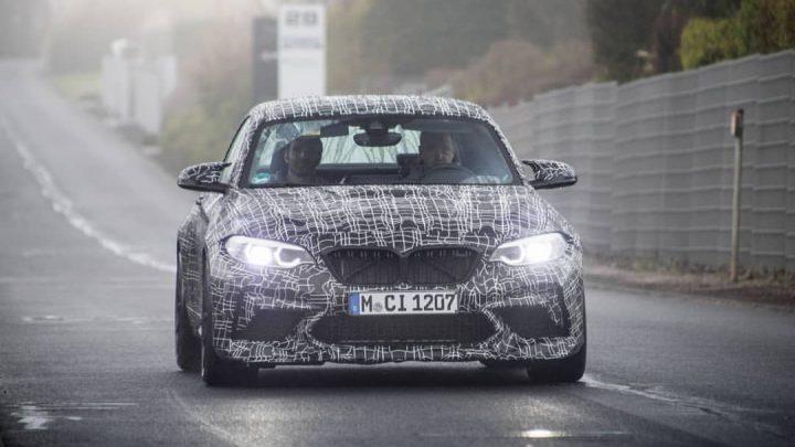 BMW M2 CS bolo nafotené na okruhu. Aké parametre ponúkne?