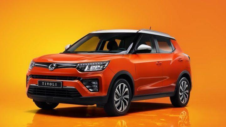 Ssangyong predstavil facelift Tivoli, ktoré dostane nový preplňovaný motor a nový interiér.