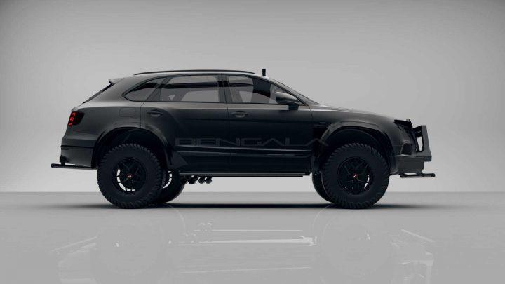 Španielsky úpravca vozidiel spravil z Bentley Bentayga drsný off-road.