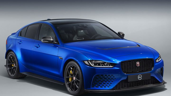 Jaguar predstavil XE SV Project 8 Touring určený na cesty.