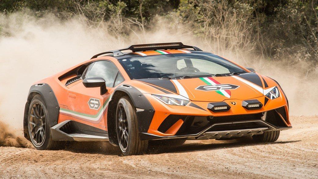 Terénne Lamborghini Huracan pôjde možno do sériovej výroby.