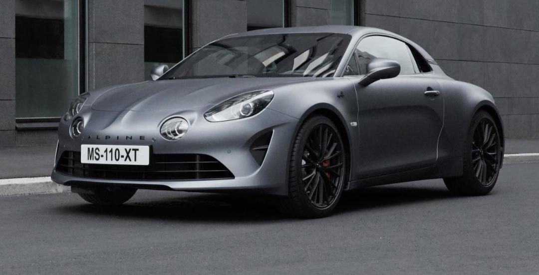 Nová verzia Alpine 110S ponúkne vyšší výkon a nižšiu váhu.