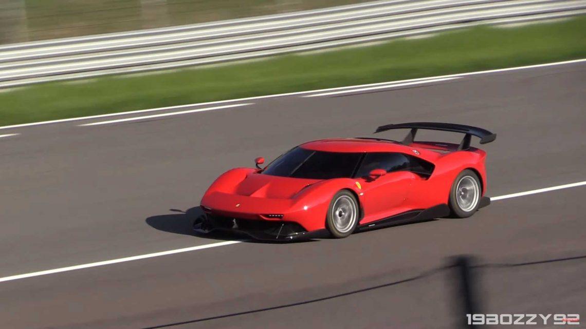 Video: Vzácne Ferrari P80/C bolo natočené na okruhu. Počúvnuť si môžeš aj zvuk.