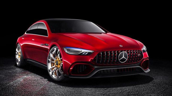 Mercedes-AMG pripravuje nový hybridný model GT73 4-Door Coupe.