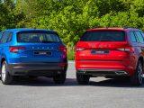 Vozidlá Škoda Karoq a Kodiaq prešli menšou úpravou.