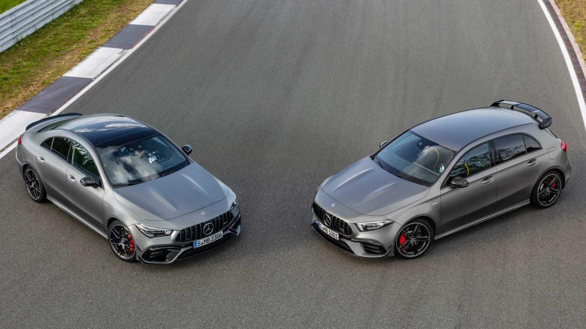 Mercedes-AMG predstavil A45 a CLA45 s výkonom až 421 koní.
