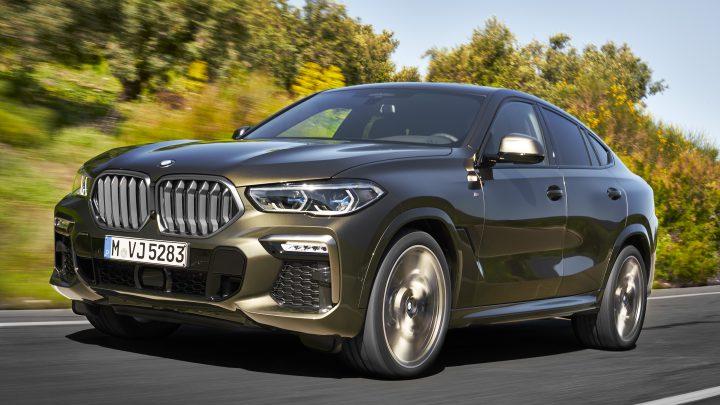 Mníchovská automobilka predstavila nové BMW X6.