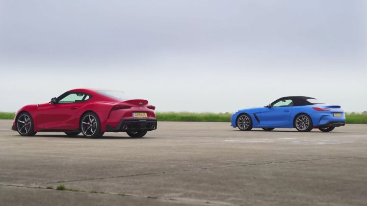 BMW Z4 vs Toyota Supra. Kto vyhraje na šprinte?