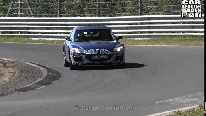Mazda testuje RX-8 na Nurburgringu. Môžeme očakávať ďalšiu generáciu?