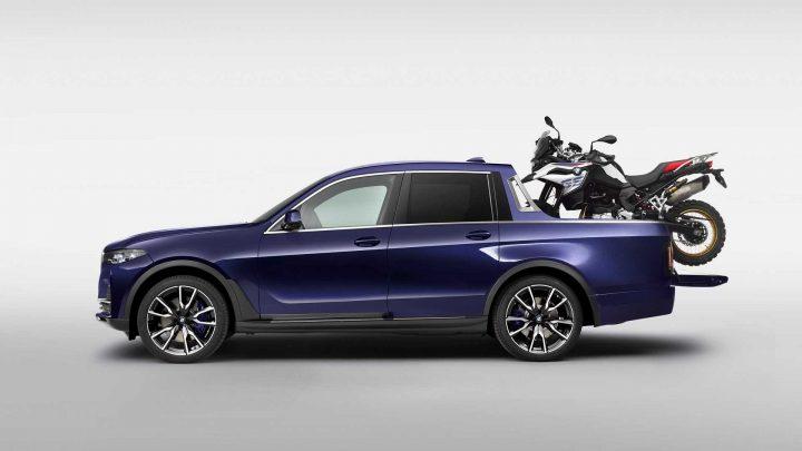 Toto je oficiálny pick-up od BMW. Do predaja však nepôjde.