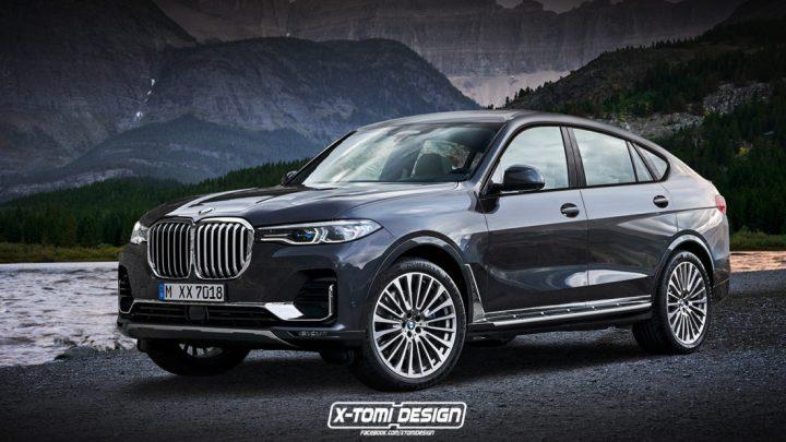 BMW vraj plánuje X8 M. Takto by mohlo vyzerať.