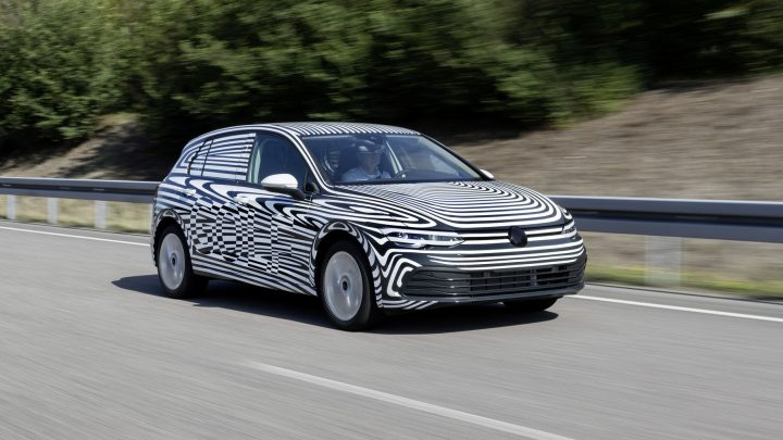 Volkswagen Golf ôsmej generácie prechádza záverečným testovaním.