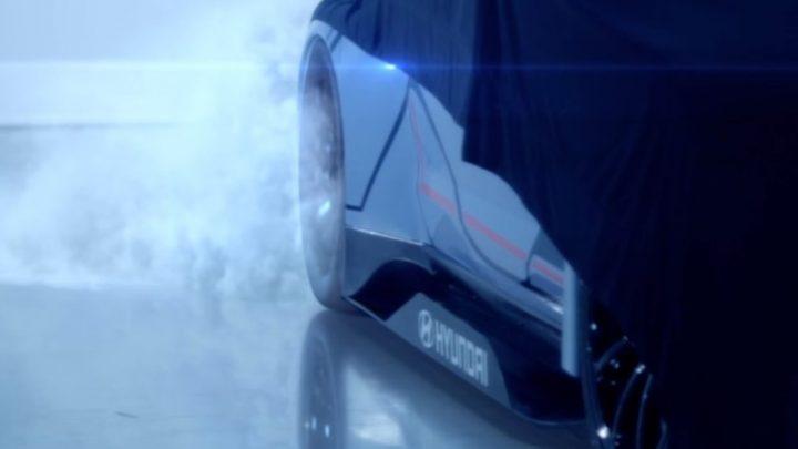 Hyundai predstaví vo Frankfurte svoje prvé pretekárske vozidlo s čisto elektrickým pohonom.