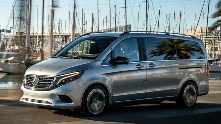 Vo Frankfurte bude predstavený sériový Mercedes-Benz EQV.