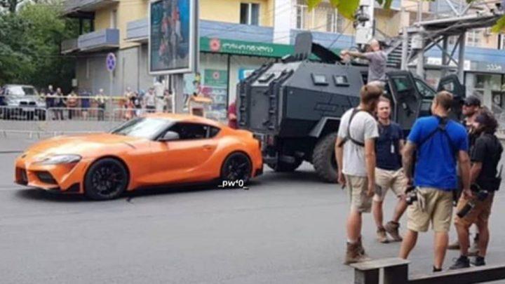 Toyota Supra bola nafotená pri natáčaní Rýchlo a Zbesilo. Vráti sa Brian O'Connera do filmu?