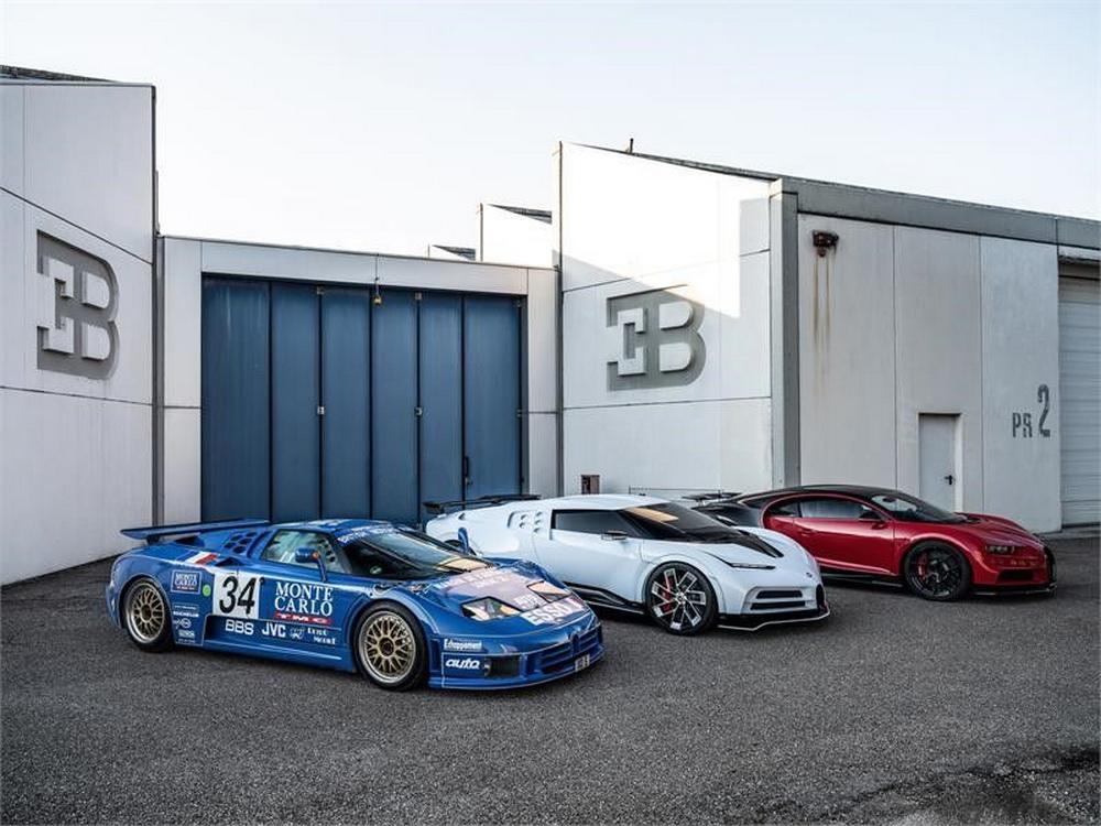 Bugatti EB110 Hommage
