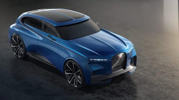 SUV Bugatti dostane pravdepodobne čisto elektrický pohon a brutálny výkon.