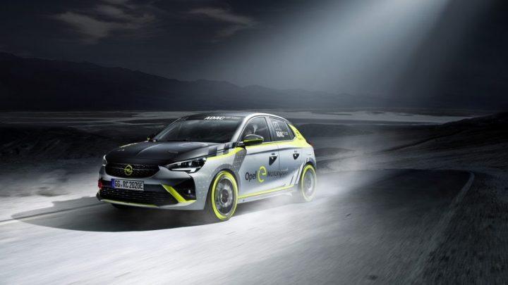 Opel predstavil prvé elektrické rally vozidlo.