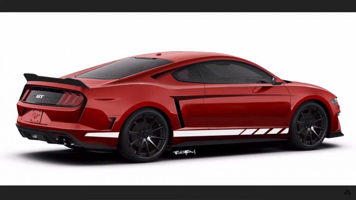 Takto by mohol vyzerať Ford Mustang s motorom uloženým uprostred.