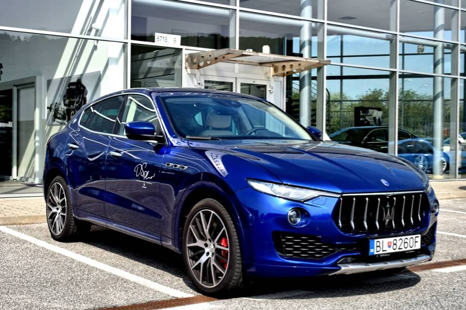 Test Maserati Levante S