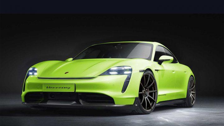 Prvé upravené Porsche Taycan prichádza z Ameriky.