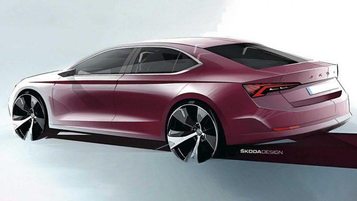 Škoda Octavia štvrtej generácie bola oficiálne odhalená na skiciach.