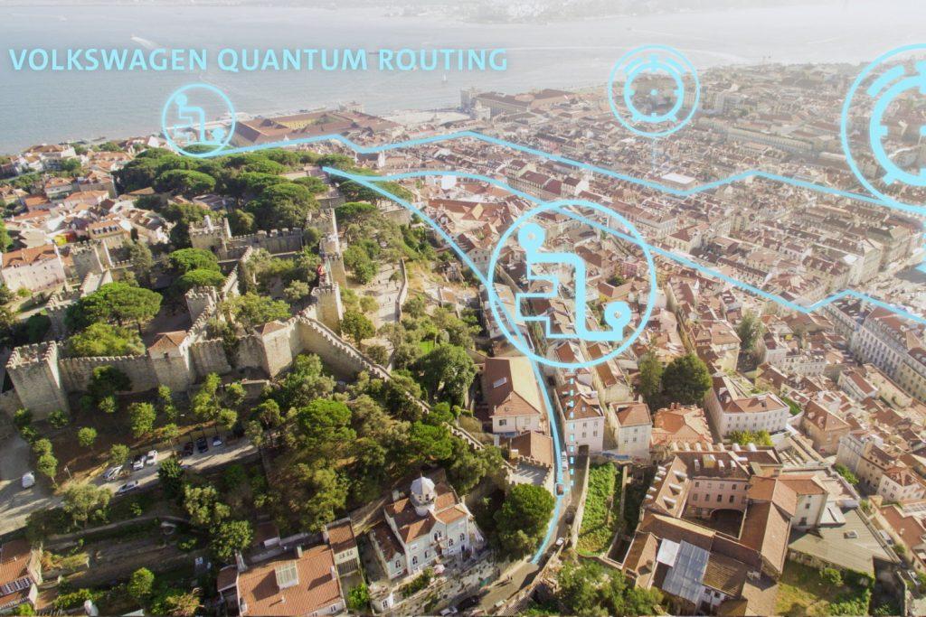 Volkswagen Quantum Routing
