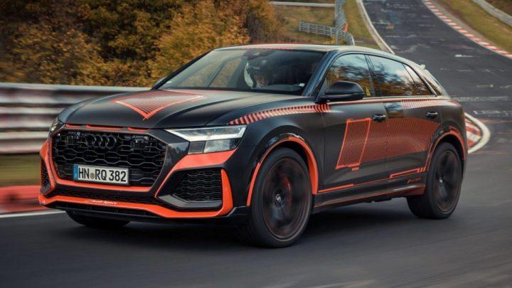 Audi RS Q8 je najrýchlejšie SUV na Nurburgringu.