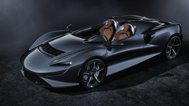 McLaren predstavil nový model Elva, ktorý nemá čelné sklo.