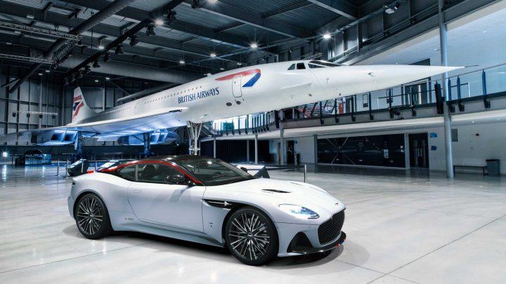 Aston Martin predstavil špeciálne vozidlo DBS Superleggera Concorde.