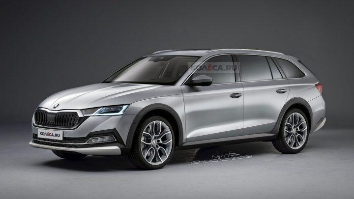 Takto by mohla vyzerať nová Škoda Octavia Scout. Aké technické parametre ponúkne?