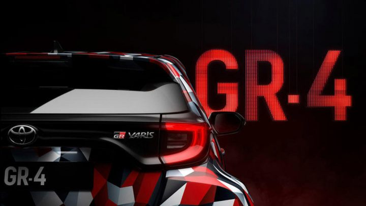 Toyota Yaris GR-4 dostane výkonný motor a pohon všetkých kolies.