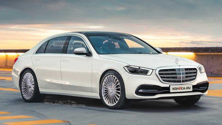 Takto môže vyzerať nový Mercedes-Benz triedy S.