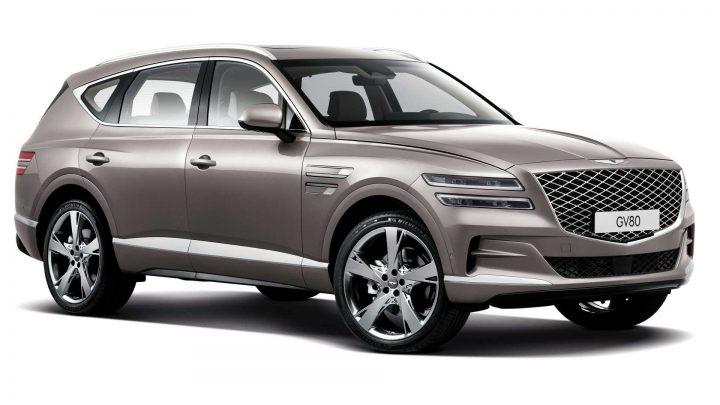 Genesis GV80 je luxusné SUV z dielne Hyundai. Pod kapotou sa nachádza aj šesťvalec.