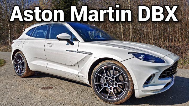 Previezli sme sa na Aston Martin DBX. Aký má zvuk a aké je DBX naživo?