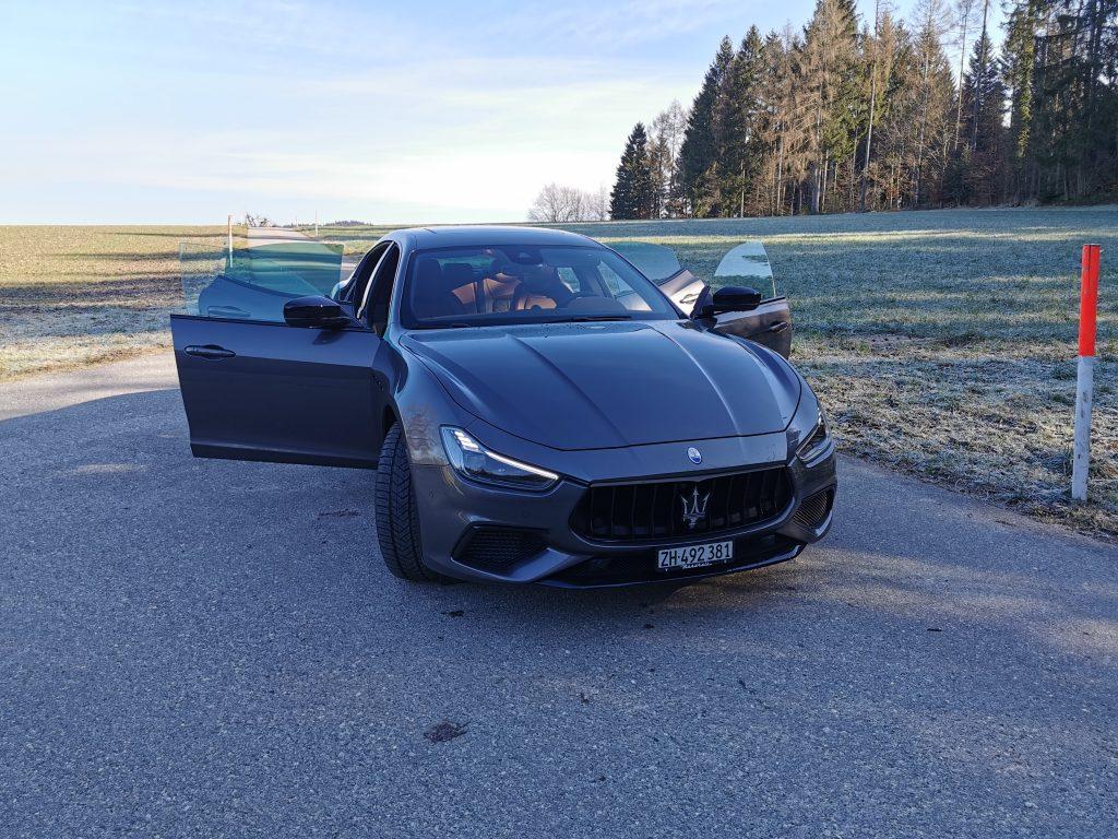 Test Maserati Ghibli S