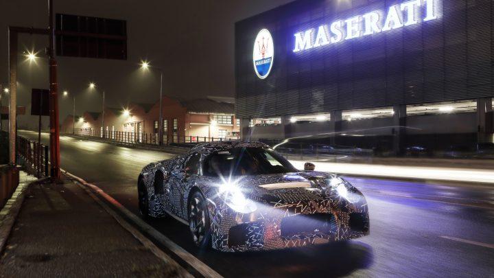 Maserati tento rok predstaví nový superšport s názvom MC20.
