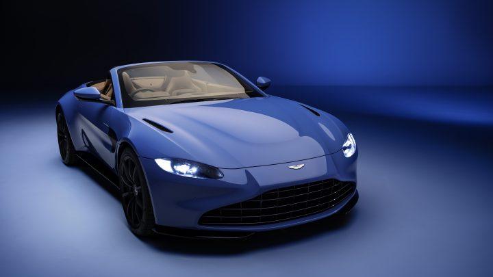 Aston Martin Vantage Roadster má najrýchlejšiu skladaciu strechu na svete.