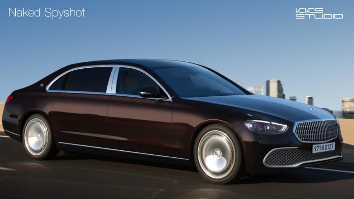 Takto môže vyzerať nový Mercedes-Maybach S. Dizajn je elegantný.