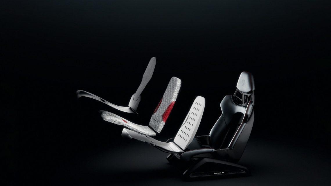 Porsche vyvinulo špeciálne sedadlá vytlačené na 3D tlačiarni.