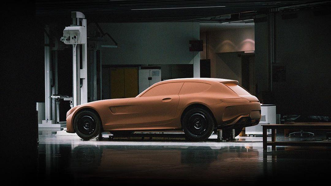 Je to Mercedes-AMG GT Shooting Brake?